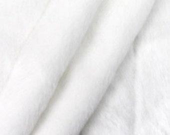 Plush Faux Fur Bedspread / Comforter / Throw Blanket / Off White Ribbed Mink / Rabbit / Custom made USA / Sheepskin / All New Sizes