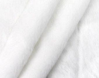 Plush Faux Fur Bedspread / Comforter / Throw Blanket / Off White Ribbed Mink / Rabbit / Custom made USA / Sheepskin / All New Sizes
