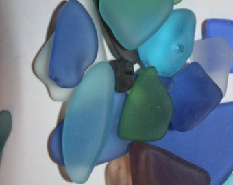 2 lbs) Sea Glass, Tumbled Sea Glass, machine tumbled Sea Glass, Sea Glass crafting, Sea Glass Bulk, Sea Glass for jewelry, crafts