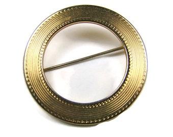 Gold Tone Brooch