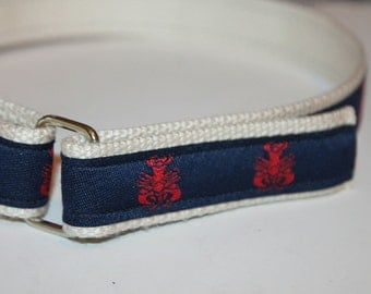 Lobster Velcro Belt Kids Lobster Belt Kids Lobster Belt Velcro Preppy Belt Children's Velcro Belt Boys Lobster Belt Girls Lobster Belt