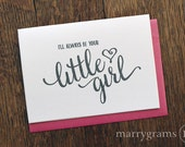 Wedding Card to Your Mom & Dad- Parents of the Bride Card - Keepsake Mother or Father Card From Daughter Gift - Wedding Day Thank You Note