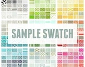 Fabric Sample Swatch for Decorative Throw Pillow Covers and Curtain Panels. Choose 1 Sample