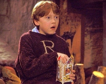 Made To Order Ron Weasley Monogram Sweater