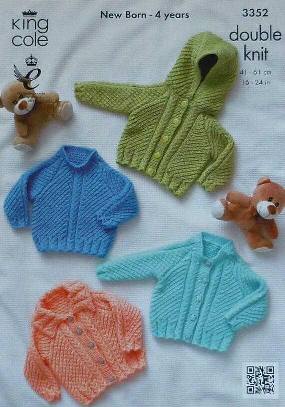 Moss Stitch Jumper Knitting Pattern : Baby Knitting Pattern K3352 Babies Moss by KnittingPatterns4U