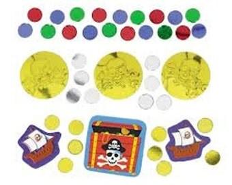 Pirate's Treasure Confetti Party Supply Decorations