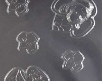 Girl Scout Emblems Chocolate Candy Mold