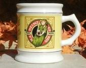 Vintage Heinz Pickles Porcelain Collectors Mug 1982