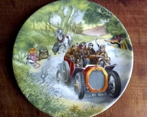 Wedgwood plate from The Wind in the Willows series Poop-Poop!
