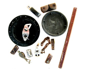 Collection of Vintage Boat Parts