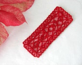 """Lace """"Love"""" Bookmark...can be made to order"""