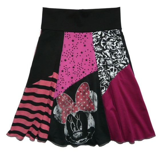 disney minnie mouse hippie skirt xs small or 14 16