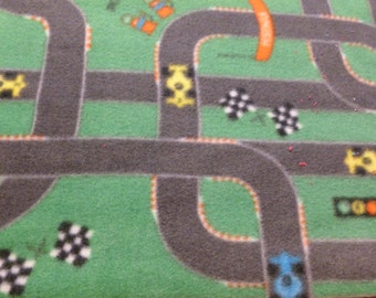 Child's toy car mat