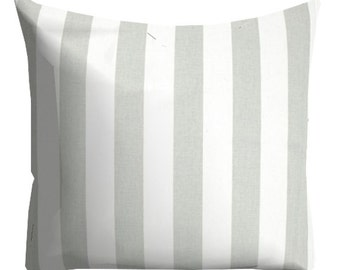 French Gray Pillows, Decorative Striped Pillows,HomeDecor, Throw Pillows, Pillows, Pillow Covers