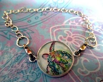 Interchangeable Bracelet - Sea Turtle Bracelet