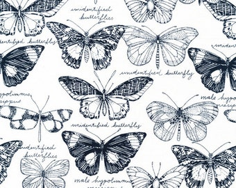 Cloud9 Organic Fabrics - Biology - Fauna 1/2 YD