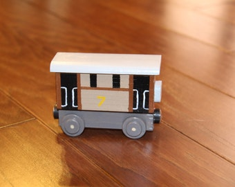 Handmade Wooden Toy Train-Toby