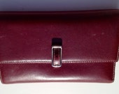 Coach Leather  trifold wallet Authentic