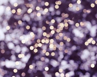 bokeh photography abstract fairy lights photography 8x10 30x45 fine art photography sparkle tree lights plum lilac gold large photography