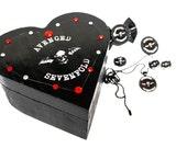 SALE Avenged Sevenfold Jewelry Box Set