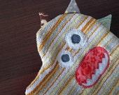 Kids Washcloth - Yellow Wash Mitt - Kids Bathroom Accessories - Gift Under 20