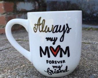 Coffee Mug Coffee Cup Mother's Day Gift Stoneware Mug