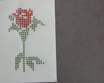 Nailhead Rose Heat Transfer