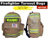 The Original Firefighter Turnout Backpack by Niki Rasor