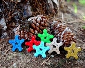 ReClaimed Chain Ornament - choose Star or Tree