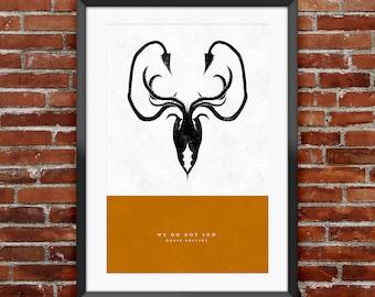 "Game of Thrones - House Greyjoy print 11X17"""