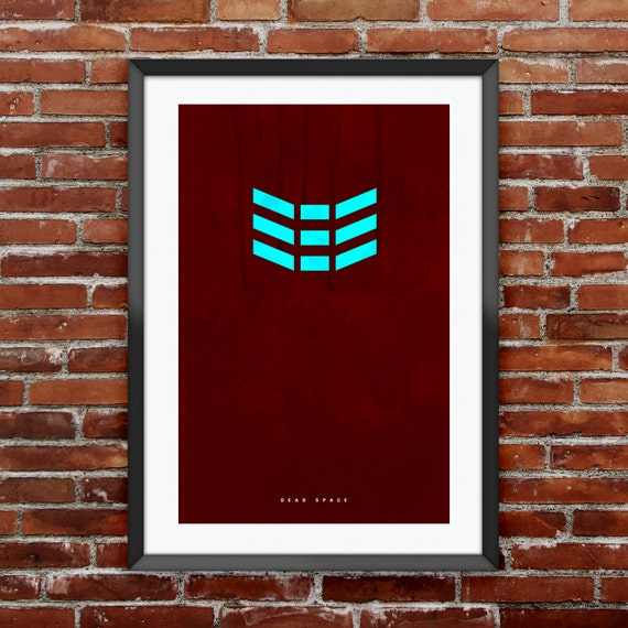 """Dead Space inspired print 11X17"""""""