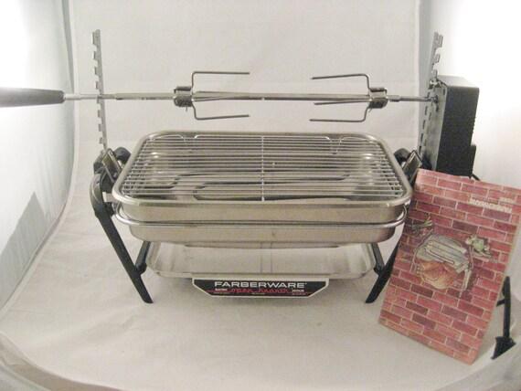 Farberware Open Hearth Stainless Steel Rotisserie Broiler