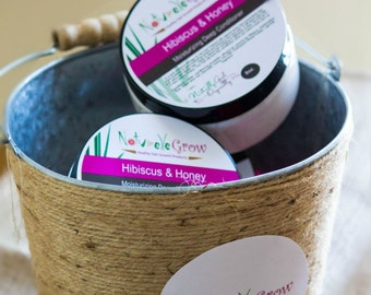 New: Hibiscus & Honey Moisturizing Deep Conditioner for healthy hair growth