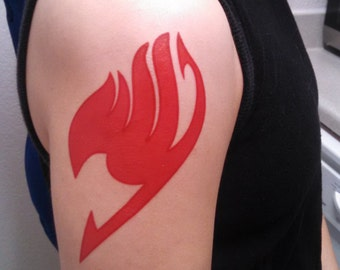 Guild tattoo, any color! - Fairy Tail character cosplay tattoo