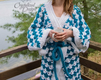 Rejuvenation Robe PDF Crochet Pattern