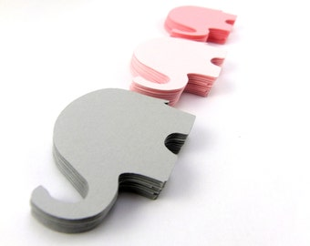 "2.25"" Elephant Die Cuts Set of 25"