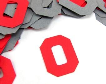 "1""  College Football Confetti set of 100"