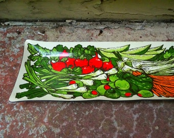Vintage vegetable tray