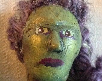 Mermaid sculpture / handmade