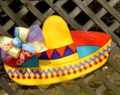 Sombrero Door Hanger, Fiesta, Cinco De Mayo Decor, Taco Party, Summer Door Hanger, Mexican Decor
