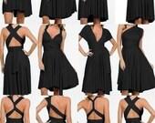 The ONE Dress multi wrap infinity wear convertible sorority choir dress wear me again wedding gown