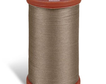Upholstery Sewing Thread, 8630 Driftwood Coats and Clark Upholstery Button Thread, Extra Strong Nylon, 150 yds UT003