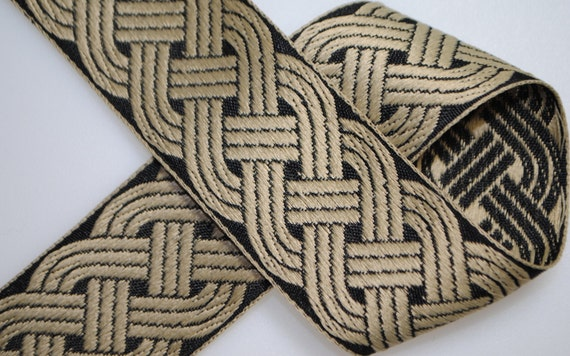 Celtic Knot Jacquard Trim 1.5 inches wide - Two, Five, or Ten Yards
