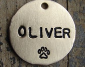 Stamped Dog Tag / Plain Pet Tag