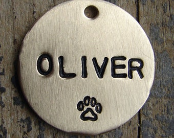 Stamped Dog Tag / Plain Pet Tag