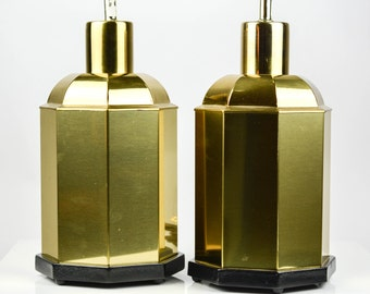 Pair of Vintage Hollywood Regency Lamps