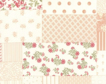 SALE - Moda - 3 Sisters - Whitewashed Cottage - Patchwork