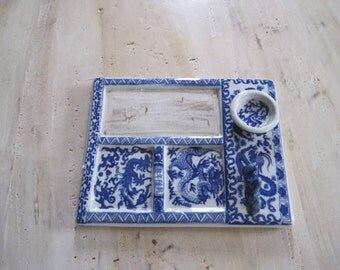 Chinese porcelain painters tray