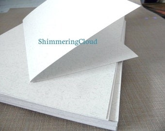 Note cards, post cards, paper for post cards, FOLDED, blank, paper, banana paper, scrapbooking, card making, rectangle, pale kraft color