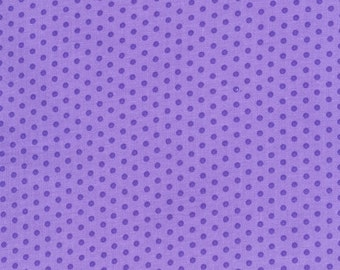 Polka Dots, Purple Polka Dots, Spot On by Robert Kaufman, Lavender Polka Dot Fabric, Purple Fabric, Dot Fabric, 10176